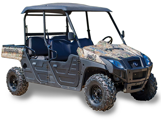 HuntVe Switchback™ 4x4 Crew Hybrid - Electric