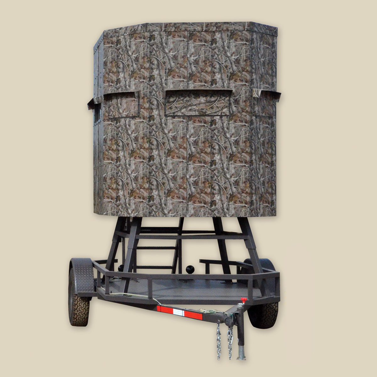 RANCH KING 6×6 ECONOMY ELEVATED TRAILER BLIND