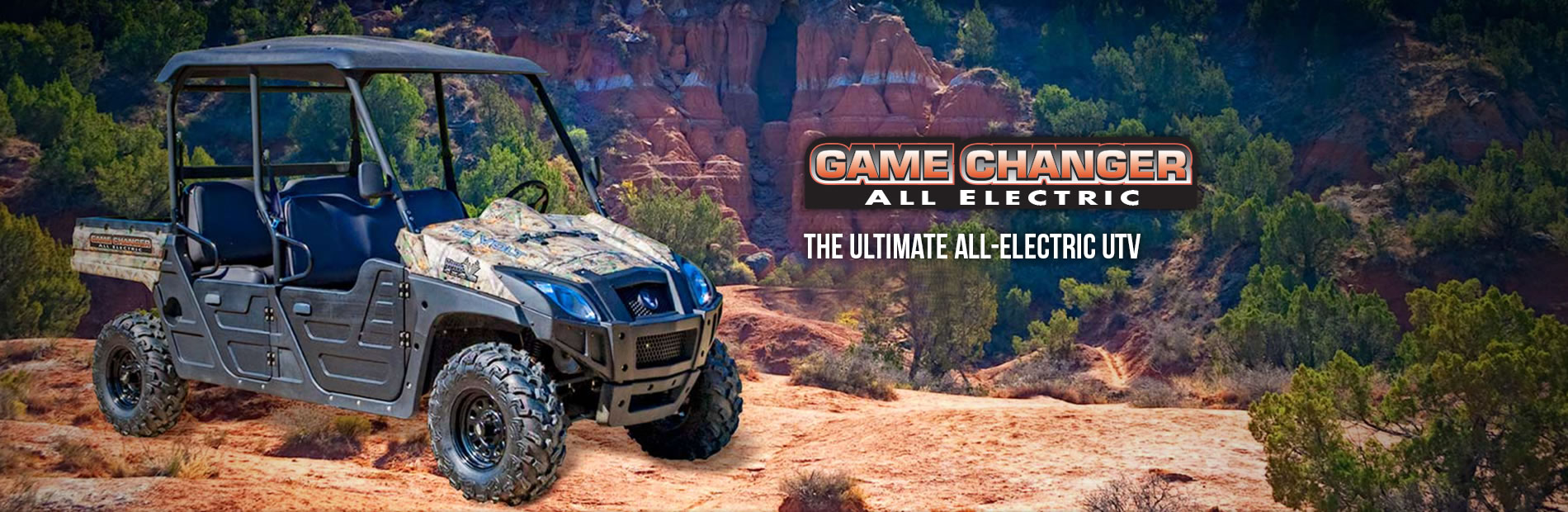 HuntVe Game Changer™ 4x4 Crew All Electric