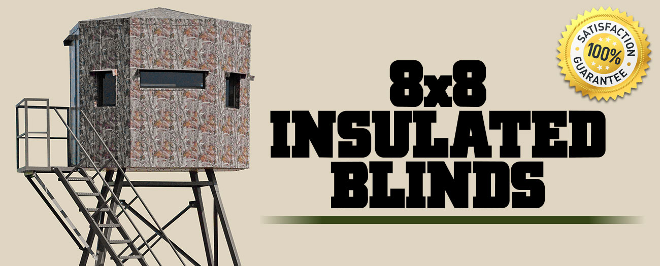 INSULATED HUNTING BLINDS