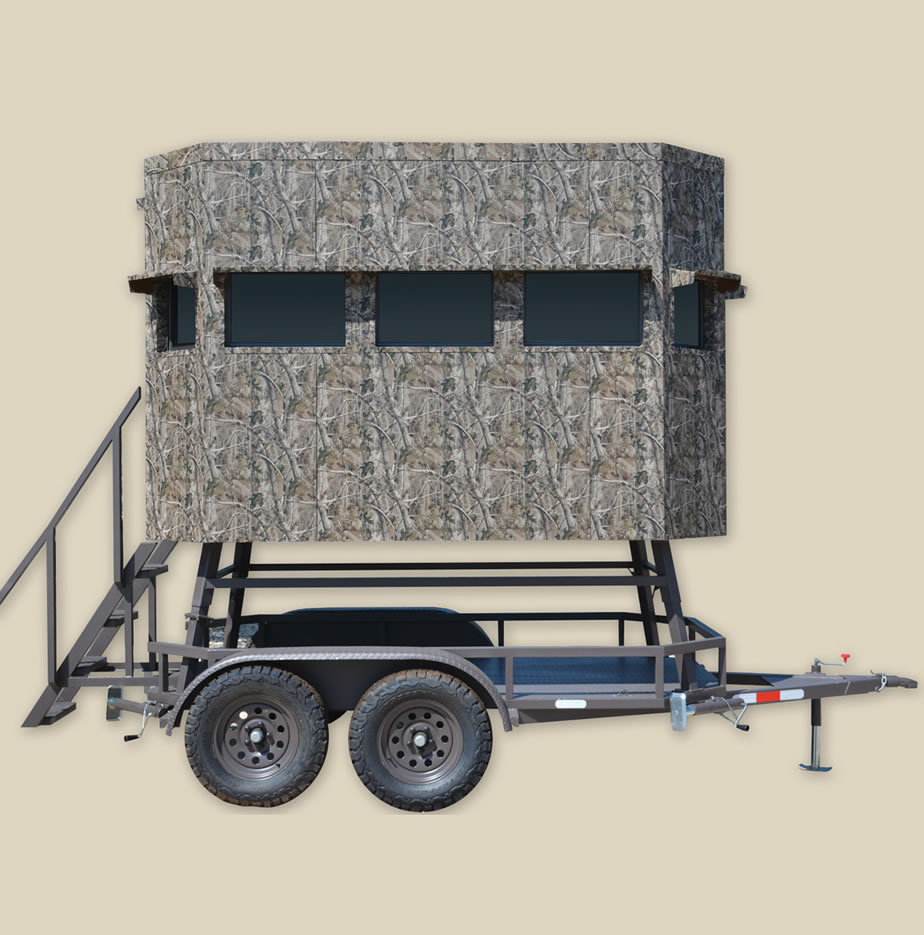 RANCH KING INSULATED ELEVATED TRAILER BLINDS