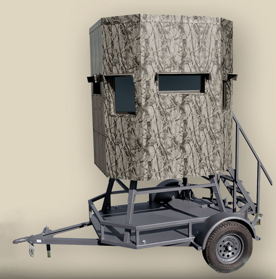 RANCH KING 4×6 & 5×6 ECONOMY ELEVATED TRAILER BLINDS