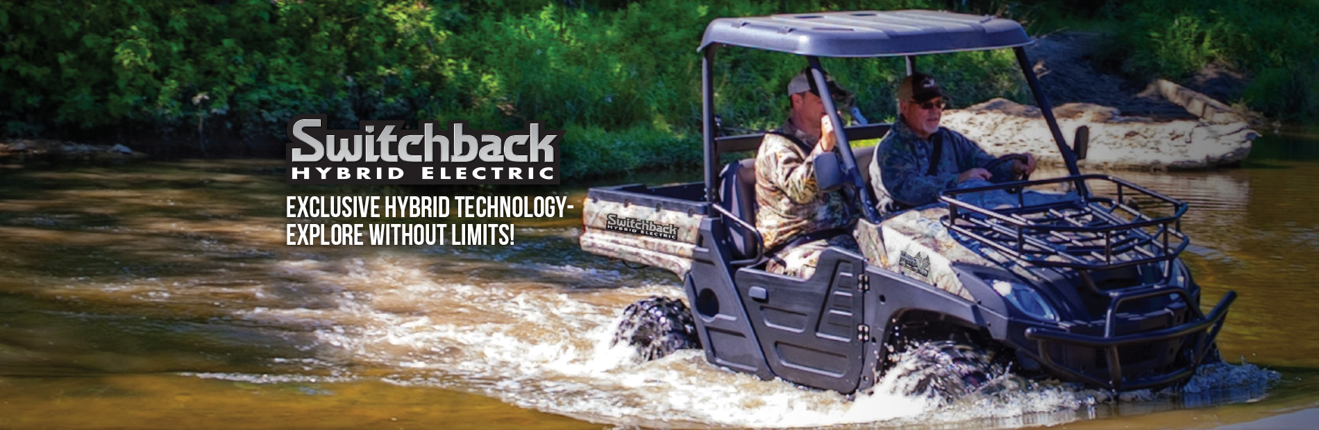 HuntVe Switchback™ 4x4 Hybrid Electric