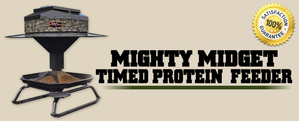 Ranch King MIGHTY MIDGET TIMED PROTEIN FEEDER